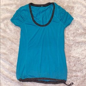 Lululemon Teal T Shirt